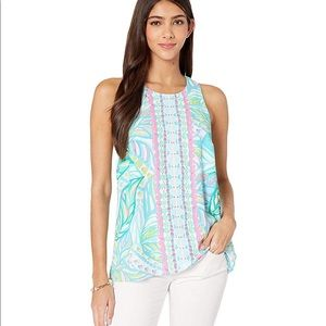 Lily Pulitzer Lyle Top in Multi Maraca My World